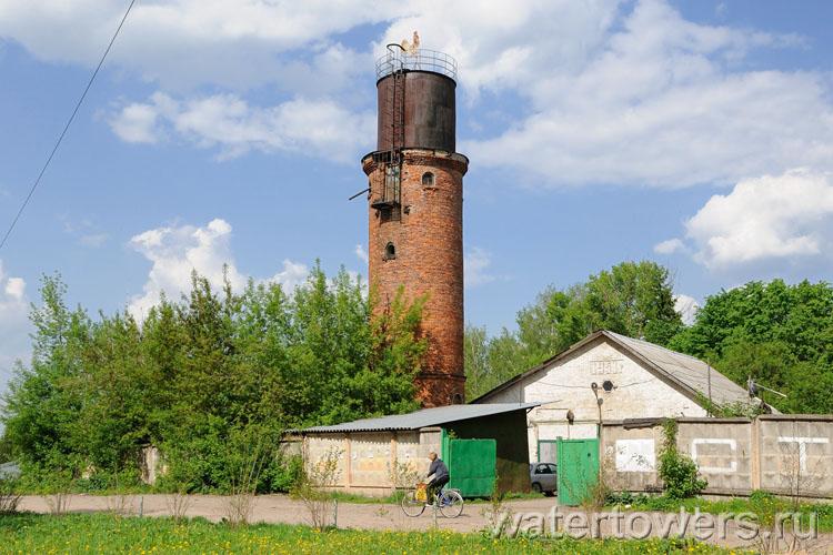 Водонаппорная башня село семеновское
