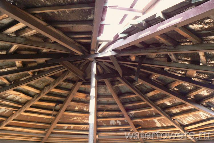 Крыши водонапорных башен