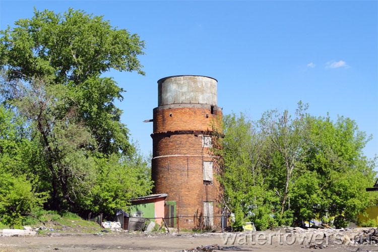 Заброшенная водонапорная башня во мнёвниковской пойме