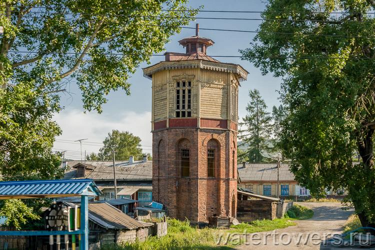 Старинные водонапорные башни видео