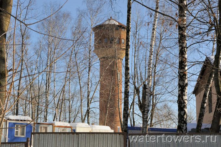 Водонапорная башня пос юбилейный
